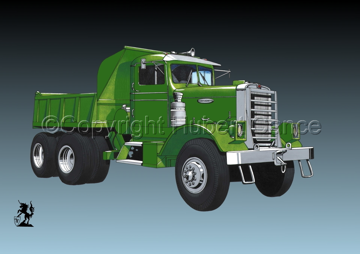 Kenworth Dump Truck #3 (large view)