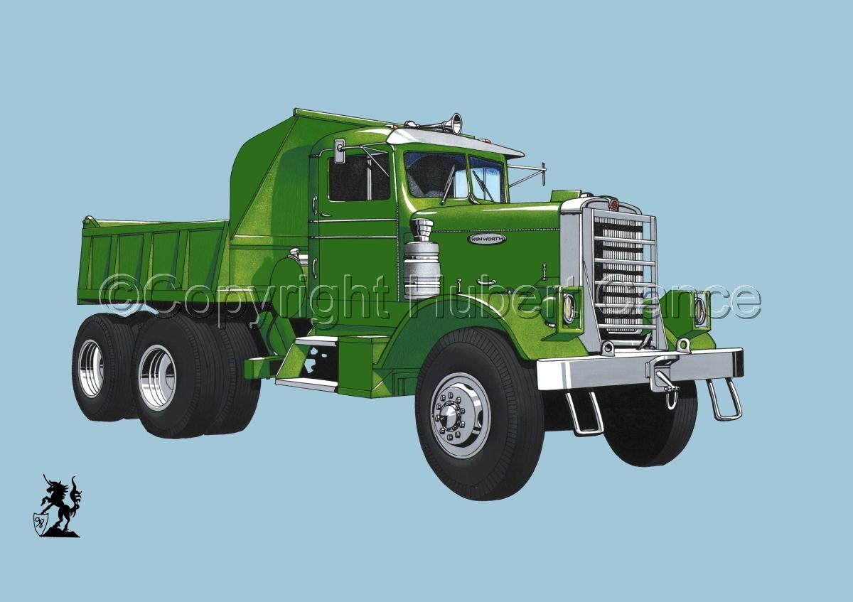 Kenworth Dump Truck #2 (large view)