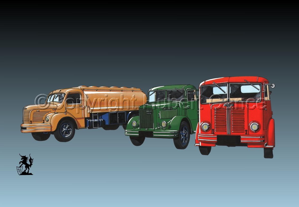 Berliet GLR8, GLB5 & GDC6W #3 (large view)