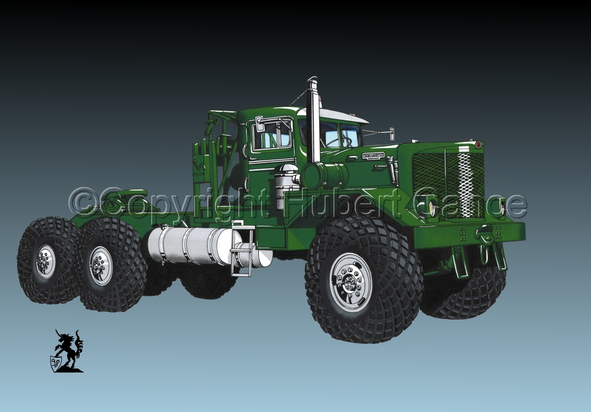 Kenworth Model 953 Tractor #3 (large view)