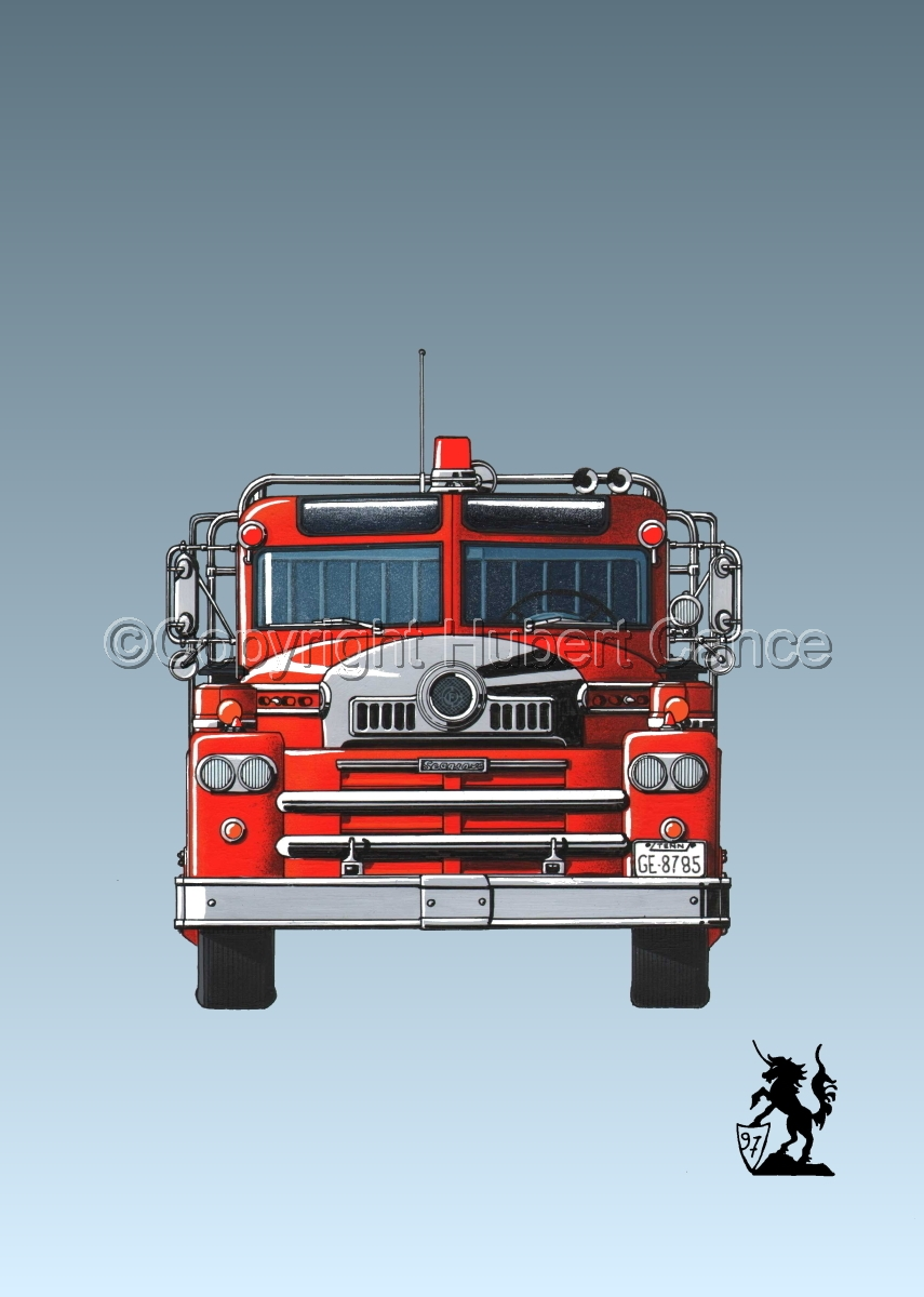 Seagrave 1958 Fire Truck #3 (large view)