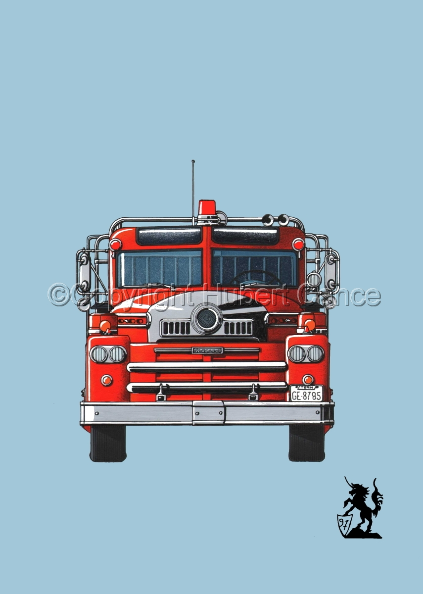 Seagrave 1958 Fire Truck #2 (large view)