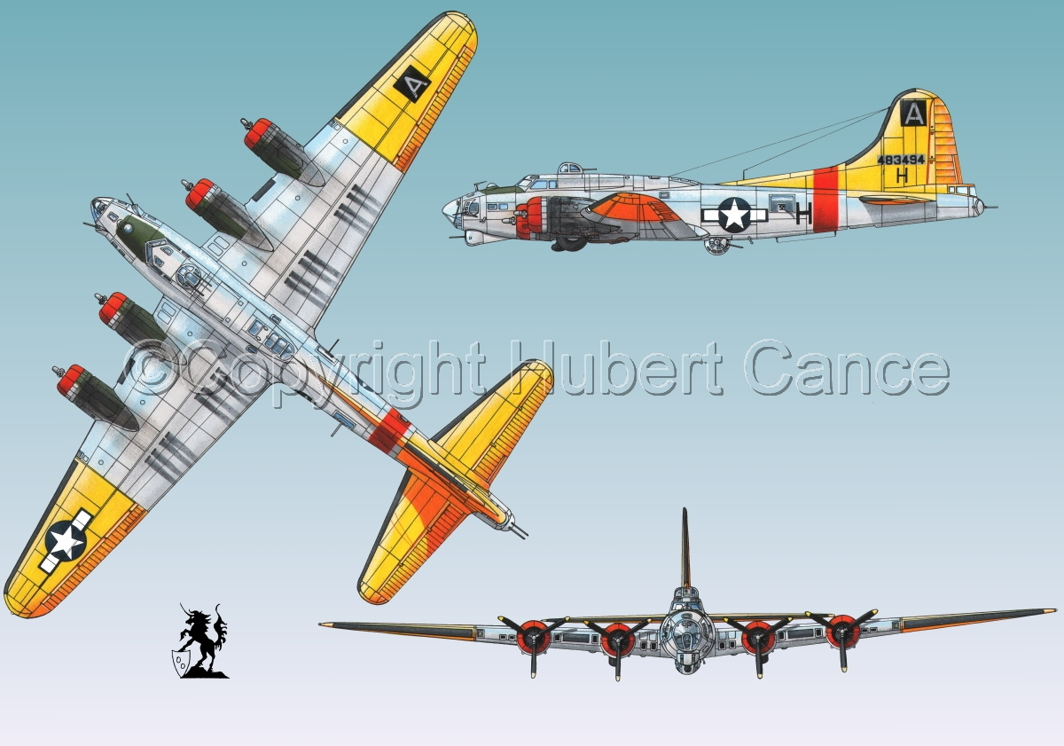 """Boeing B-17G-85-DL """"Flying Fortress"""" #3 (large view)"""