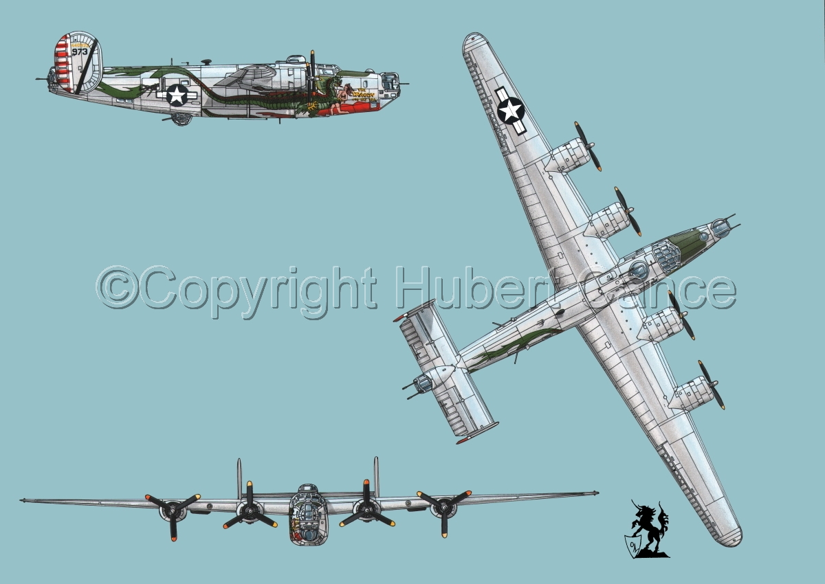"Consolidated B-24J-190 ""Liberator"" #2 (large view)"