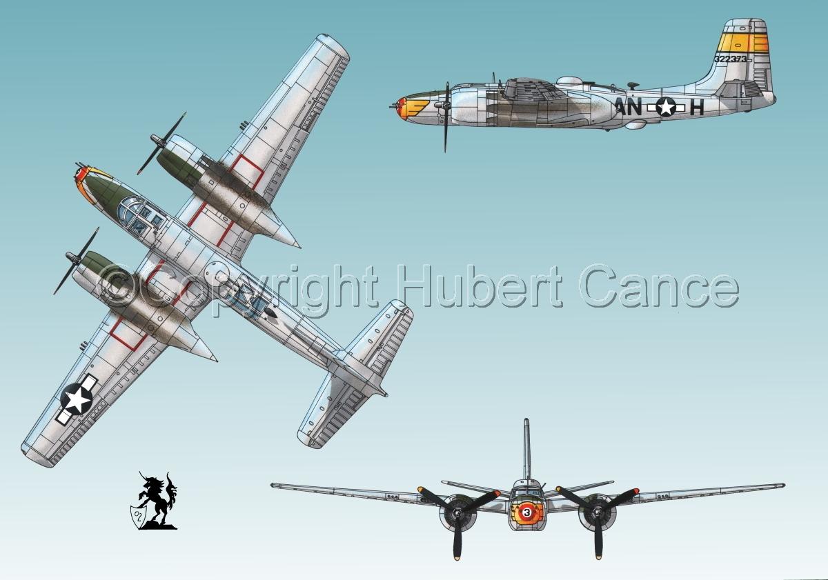 "Douglas A-26B ""Invader"" #2 (large view)"