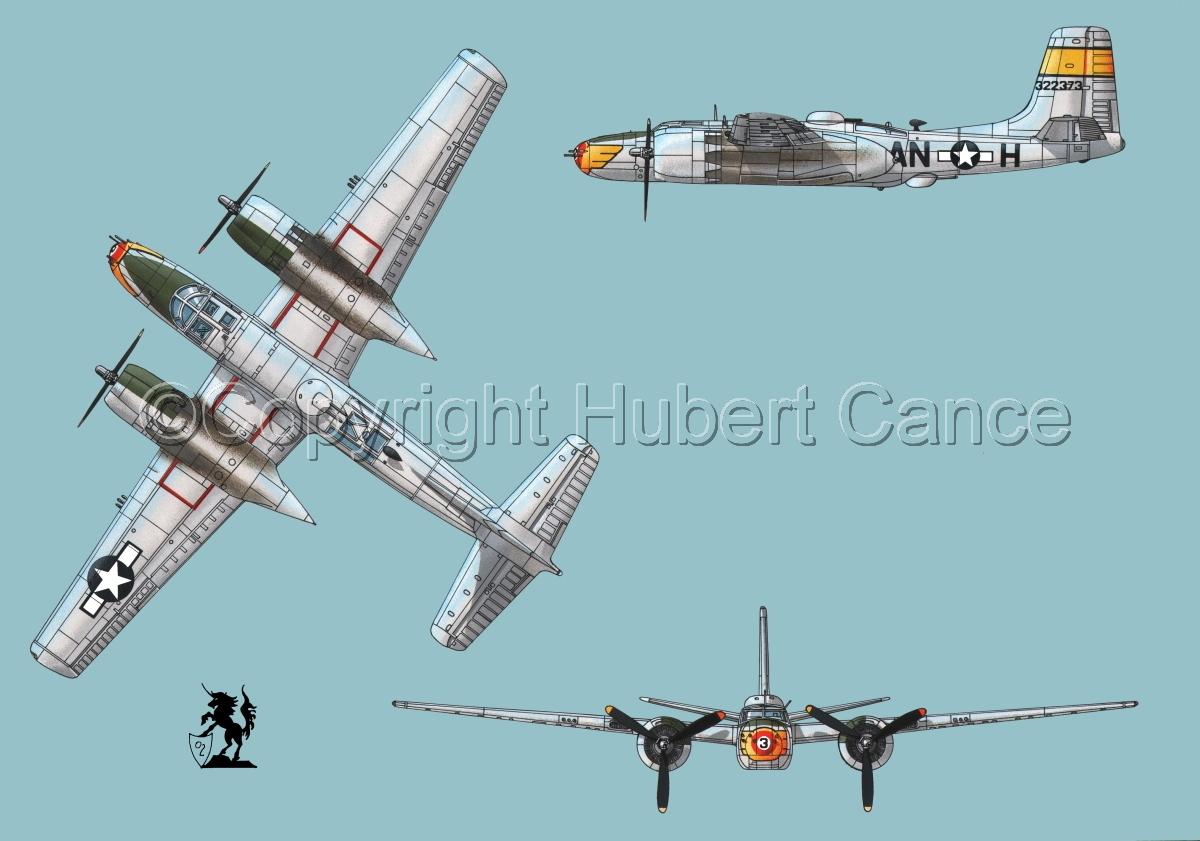 "Douglas A-26B ""Invader"" #1 (large view)"