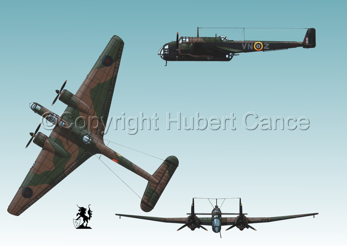 """Handley Page """"Hampden"""" B.1 #3 (large view)"""
