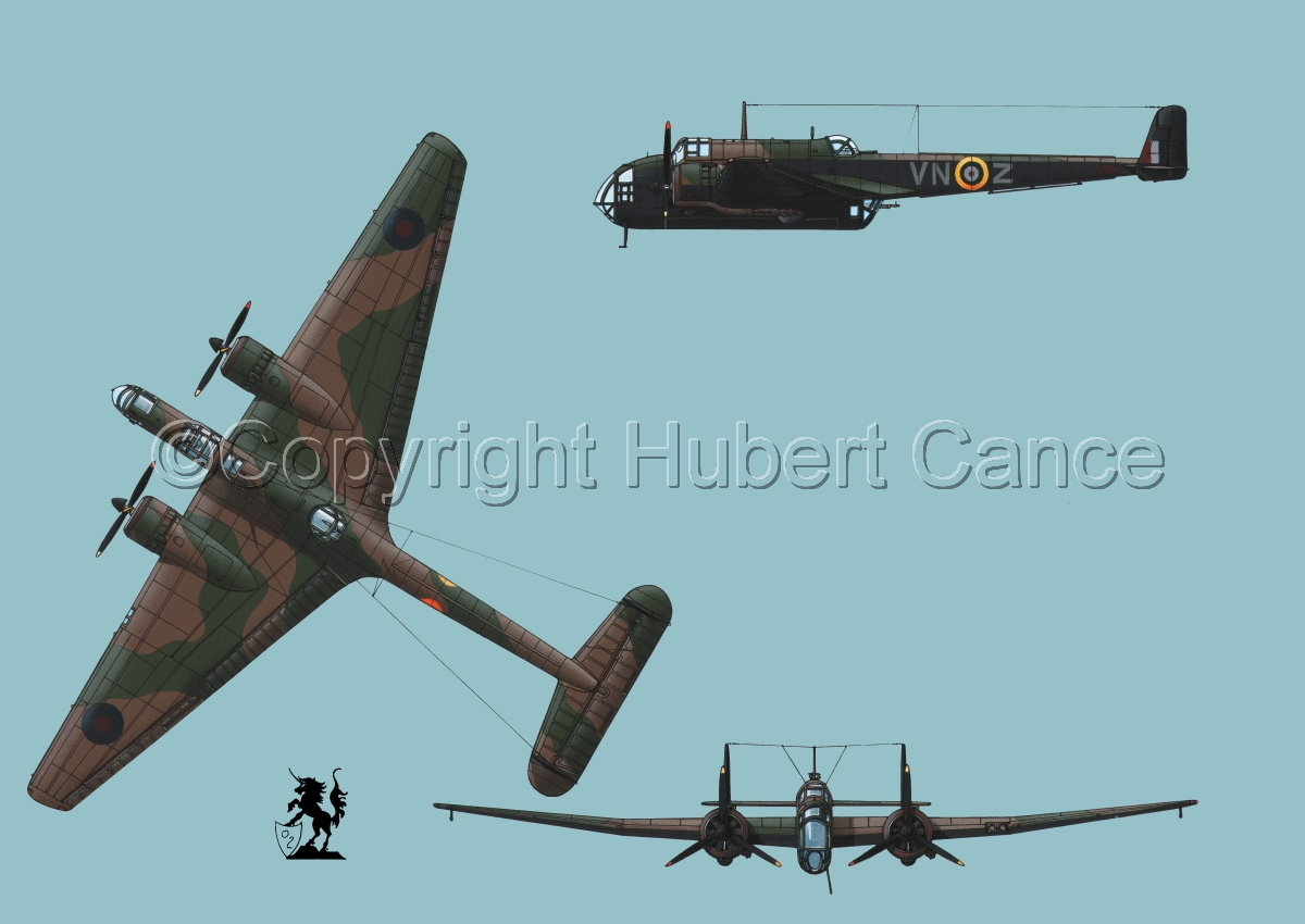 """Handley Page """"Hampden"""" B.1 #2 (large view)"""