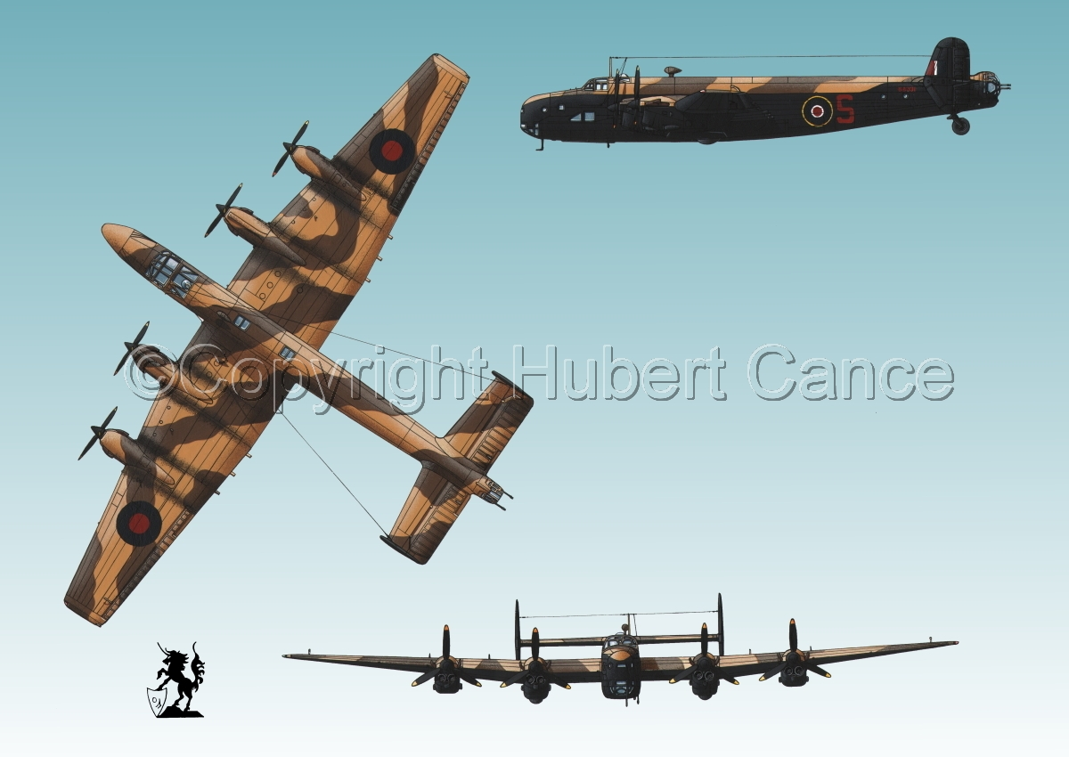 """Handley-Page """"Halifax"""" B.II Series 1 (Special) #3 (large view)"""