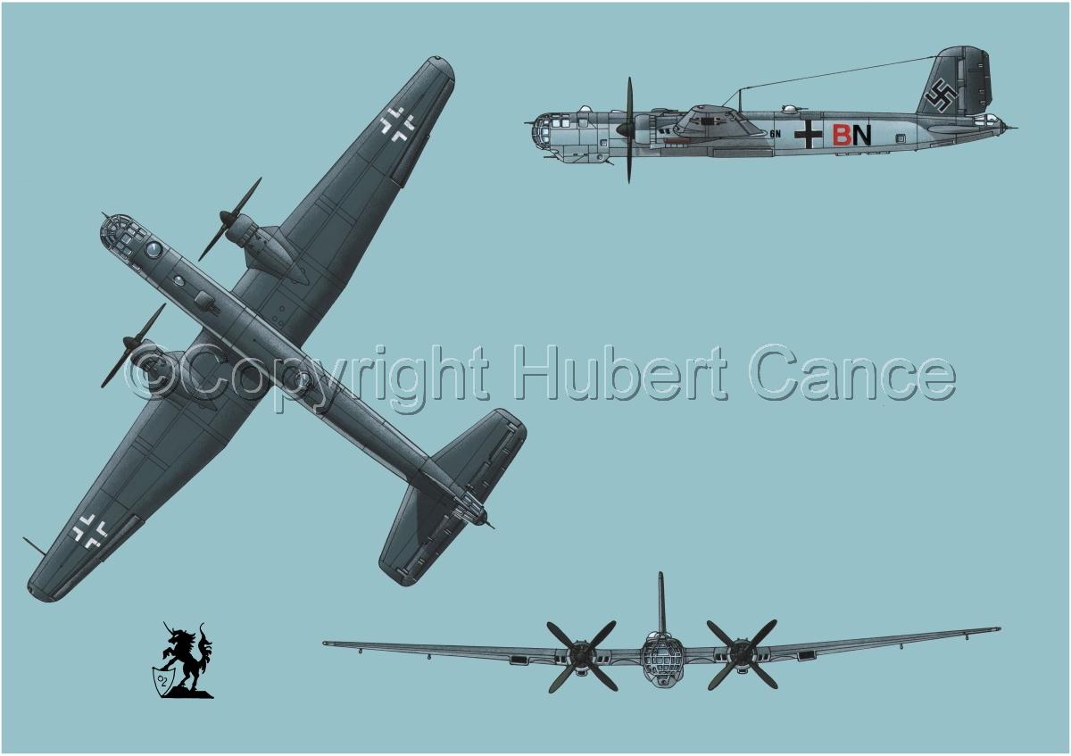 "Heinkel He 177A-5 ""Greif"" #2 (large view)"