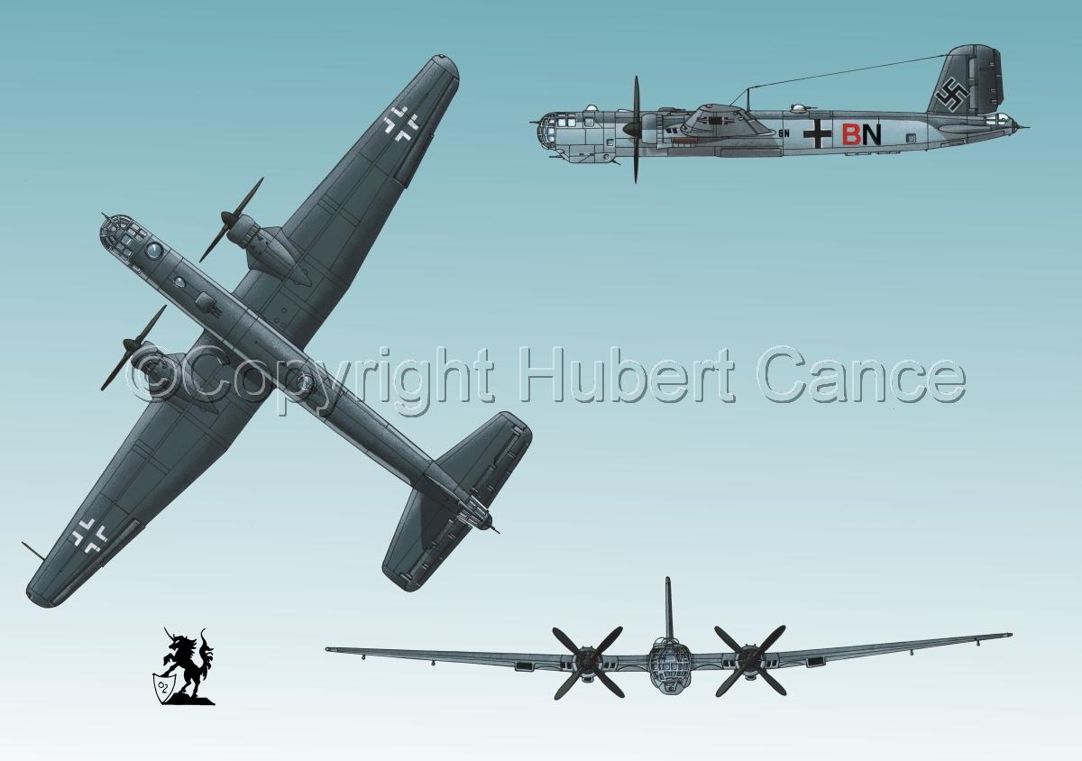 "Heinkel He 177A-5 ""Greif"" #3 (large view)"