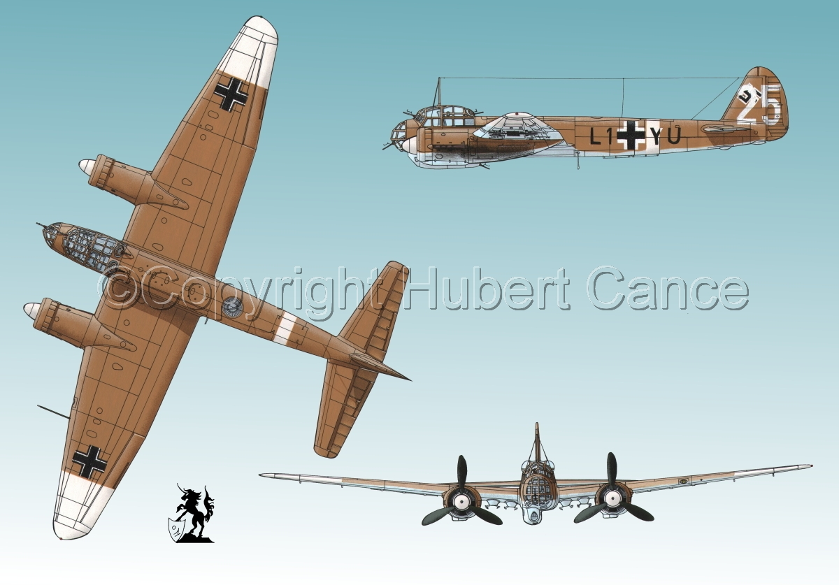 Junkers Ju 88A-4 #3 (large view)