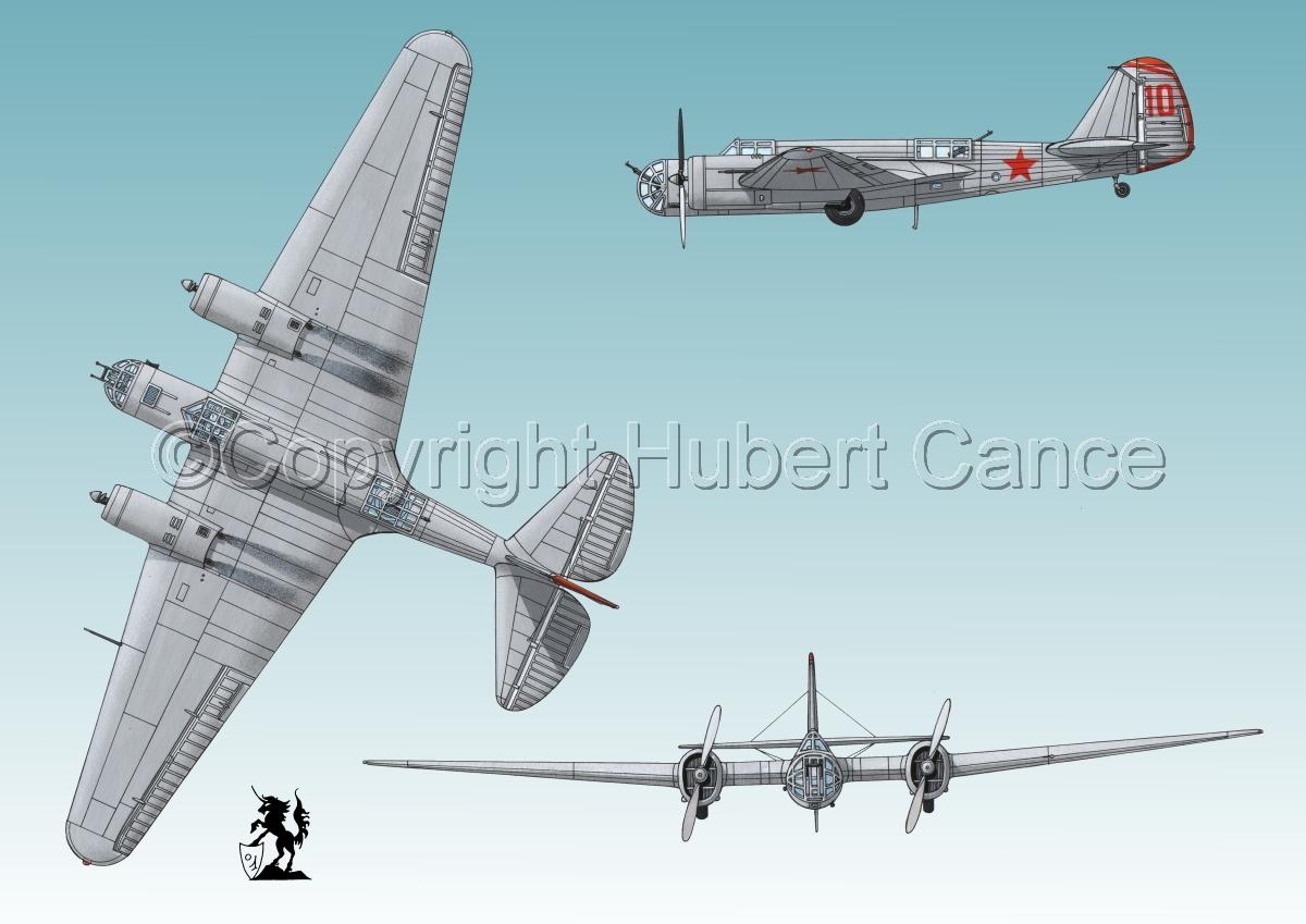 """Tupolev SB-2 """"Katyusha"""" #3 (large view)"""