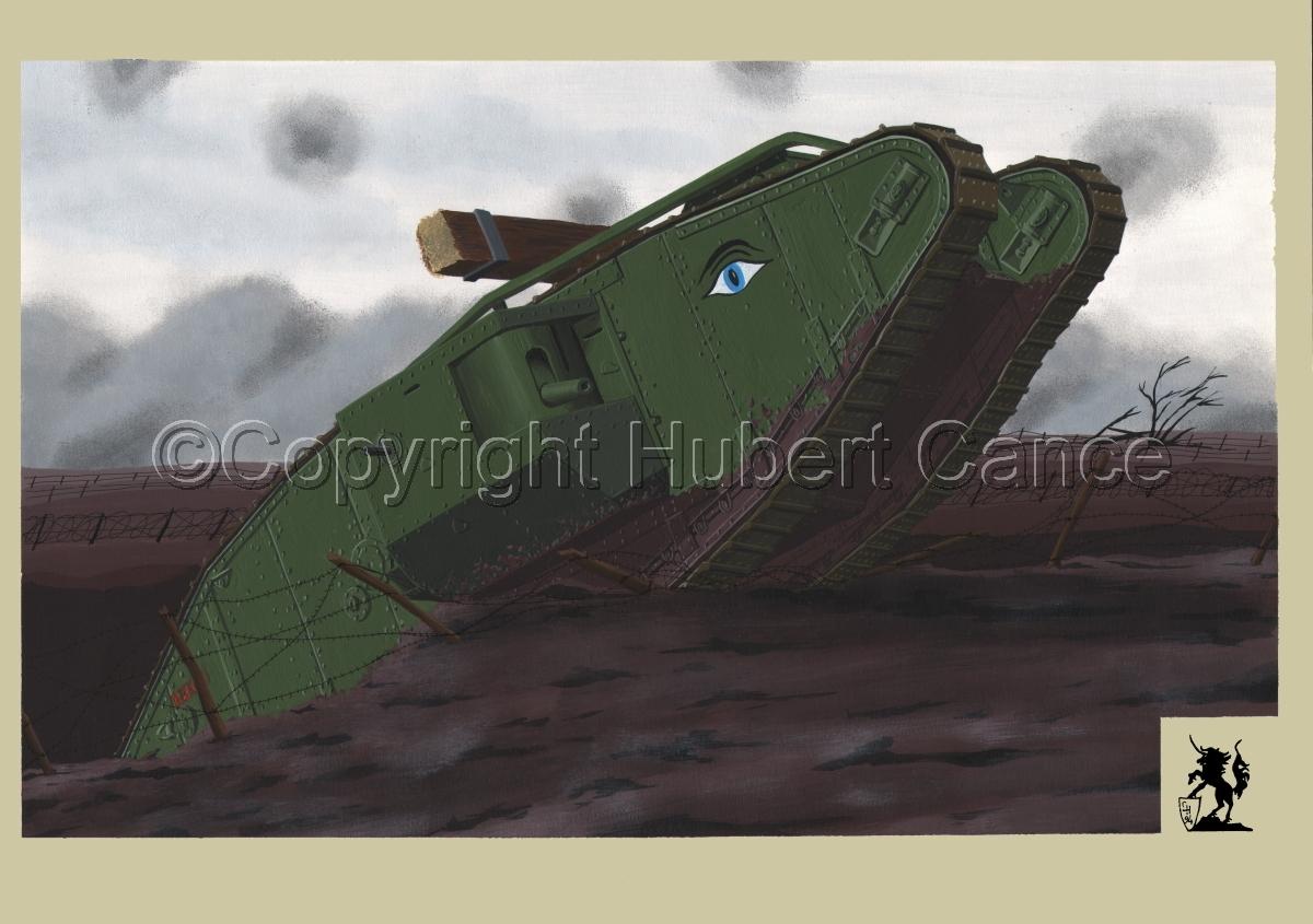 WW1 British Tank Mk.IV #1.2 (large view)