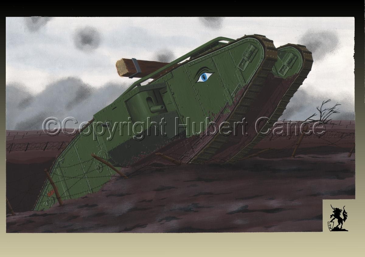 WW1 British Tank Mk.IV #1.3 (large view)
