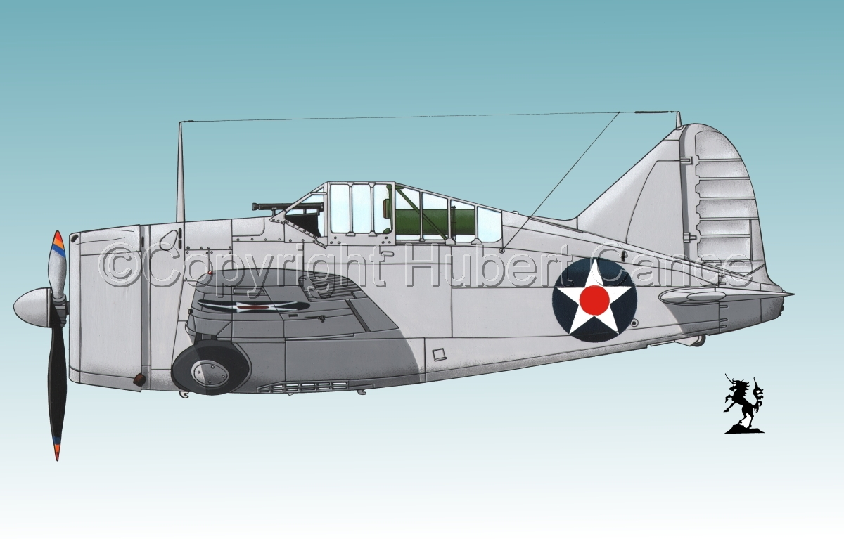 "Brewster F2A-1 ""Buffalo"" #2.3 (large view)"