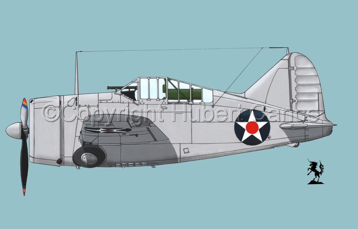 """Brewster F2A-1 """"Buffalo"""" #2.2 (large view)"""