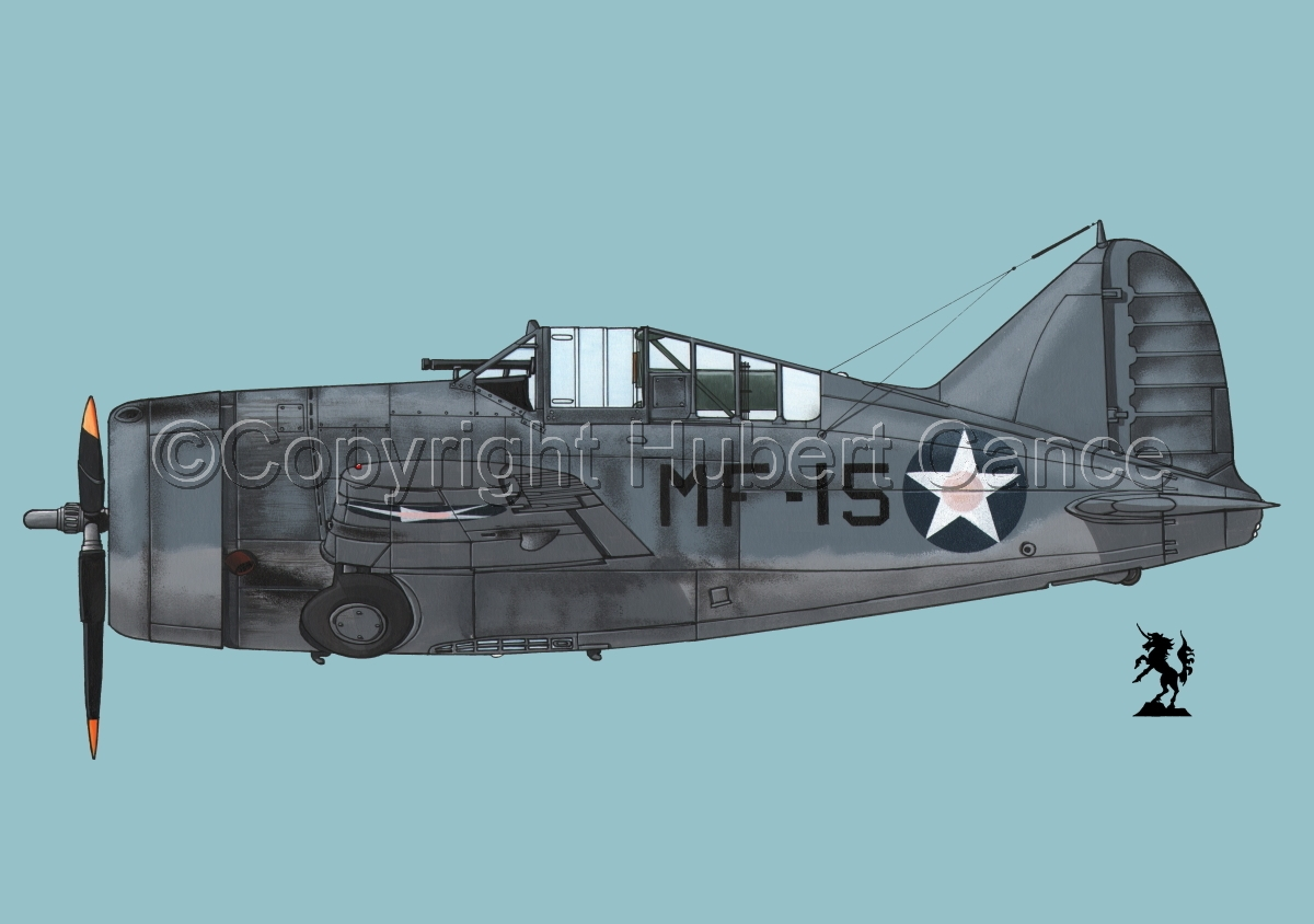 "Brewster F2A-3 ""Buffalo"" #1.2 (large view)"