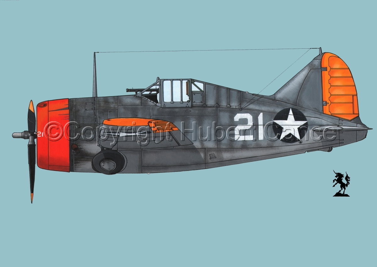 "Brewster F2A-3 ""Buffalo"" #2.2 (large view)"