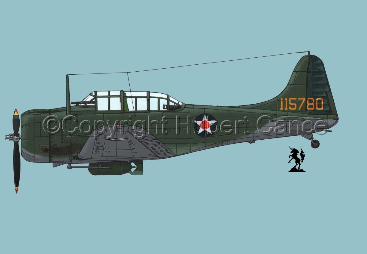 "Douglas A-24-DE ""Banshee""#1.2 (large view)"