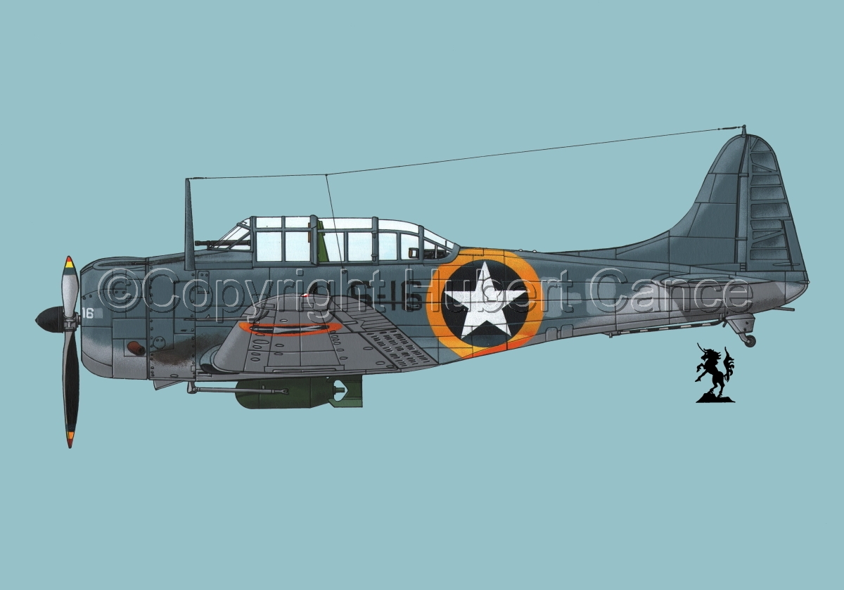 "Douglas SBD-3 ""Dauntless""#1.2 (large view)"