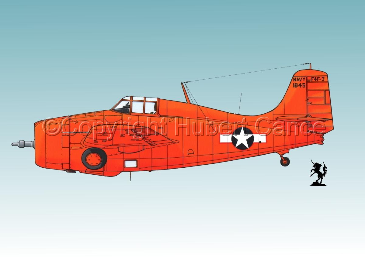 """Grumman F4F-3 """"Wildcat"""" #1.3 (large view)"""