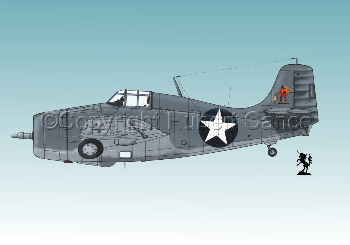 "Grumman F4F-4 ""Wildcat""#1.3 (large view)"