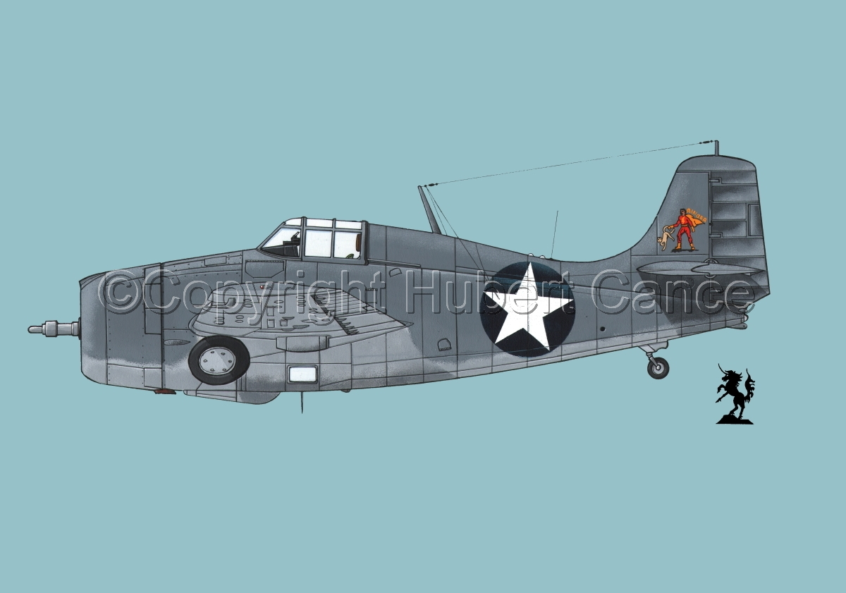 """Grumman F4F-4 """"Wildcat""""#1.2 (large view)"""