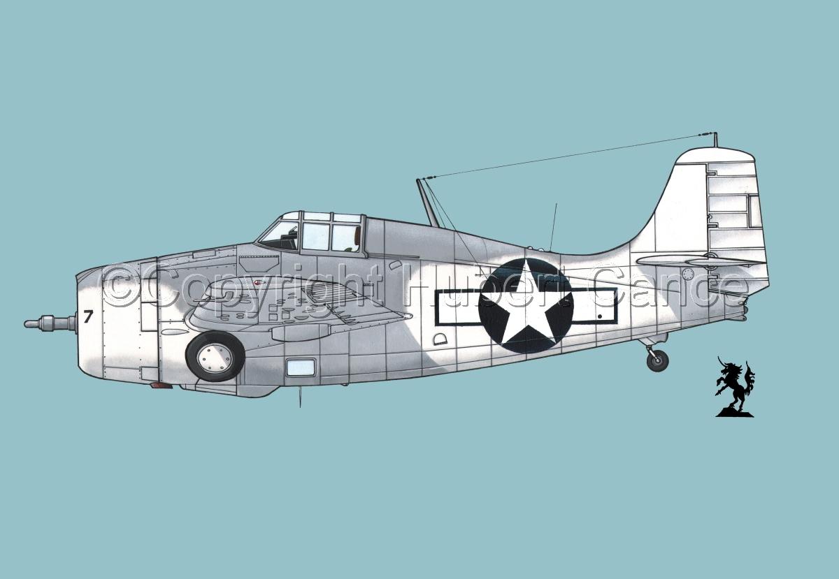 """Grumman F4F-4 """"Wildcat"""" #2.2 (large view)"""