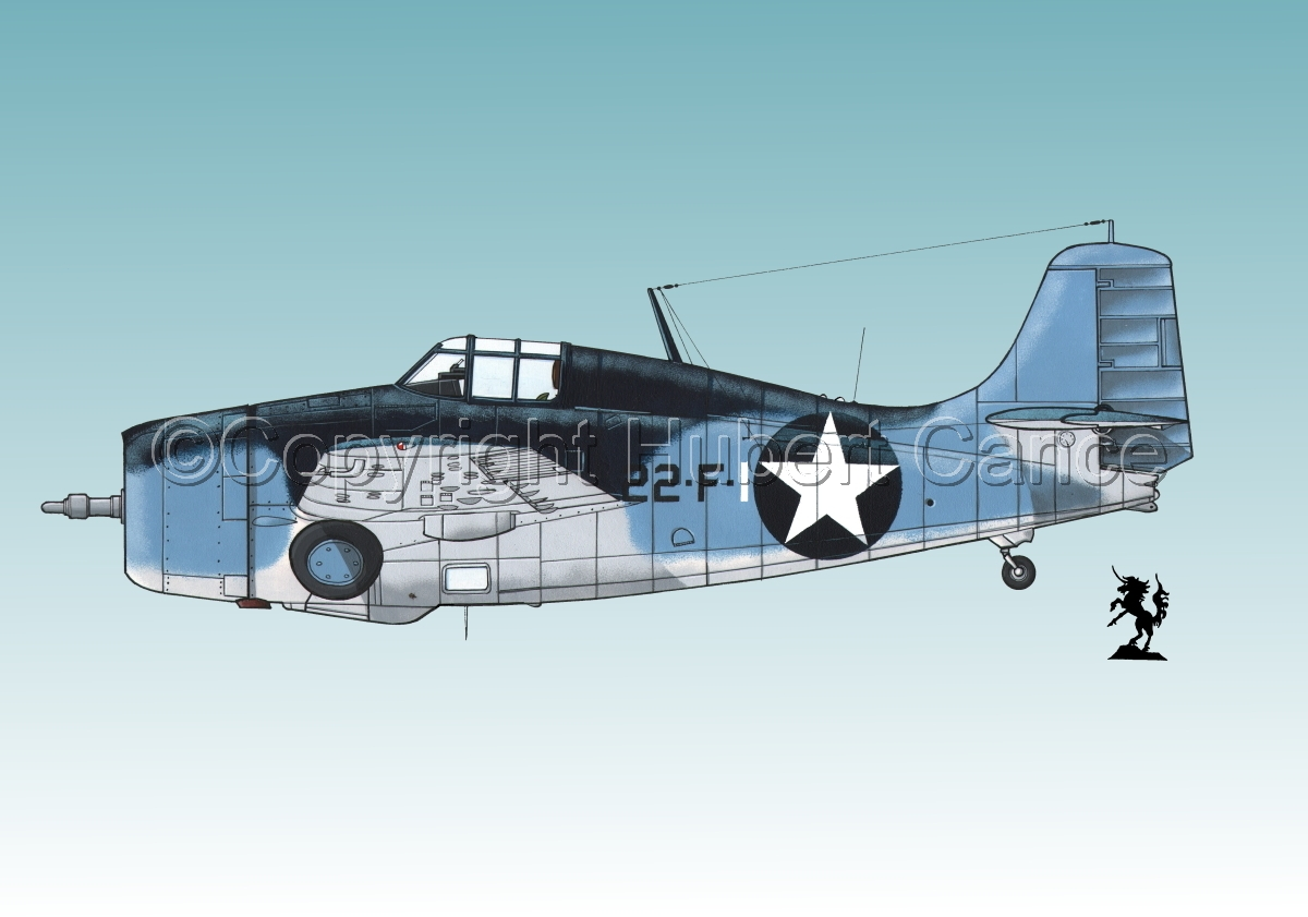 "Grumman F4F-4 ""Wildcat"" #3.3 (large view)"