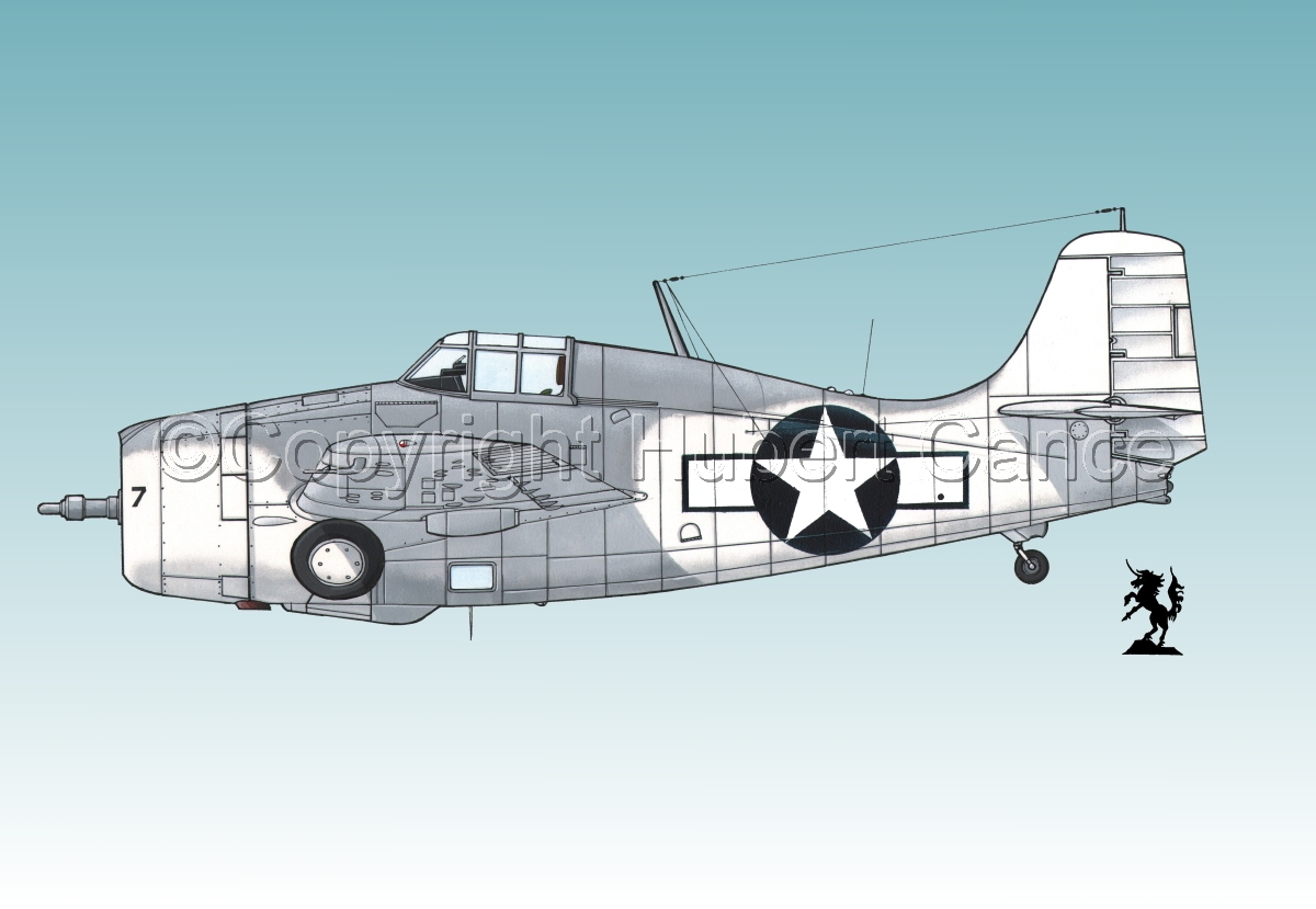 "Grumman F4F-4 ""Wildcat"" #2.3 (large view)"