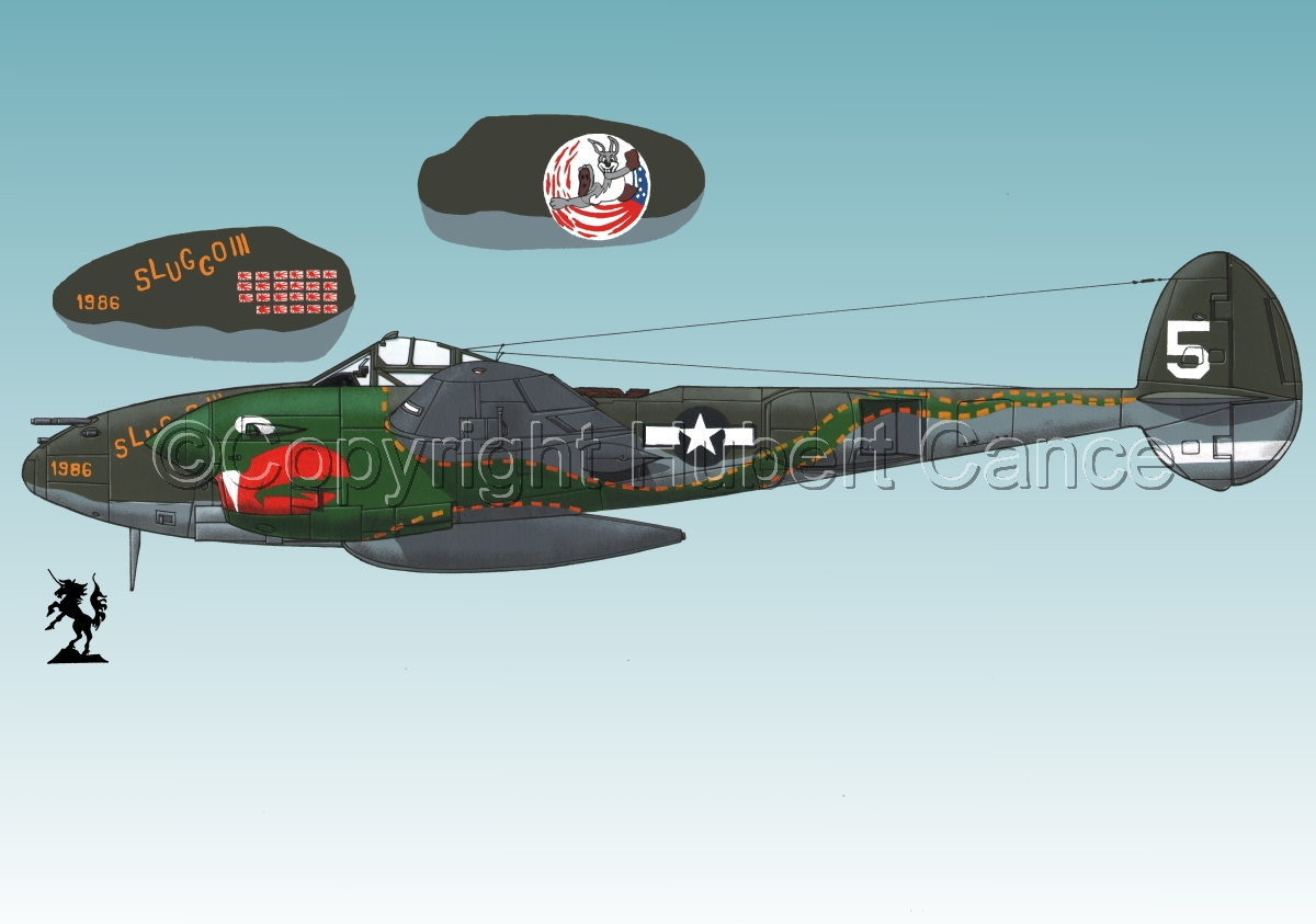 "Lockheed P-38J ""Lightning"" #1.3 (large view)"