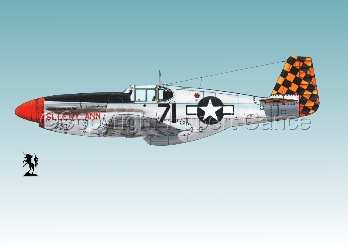 "North American P-51B ""Mustang"" #1.3 (large view)"