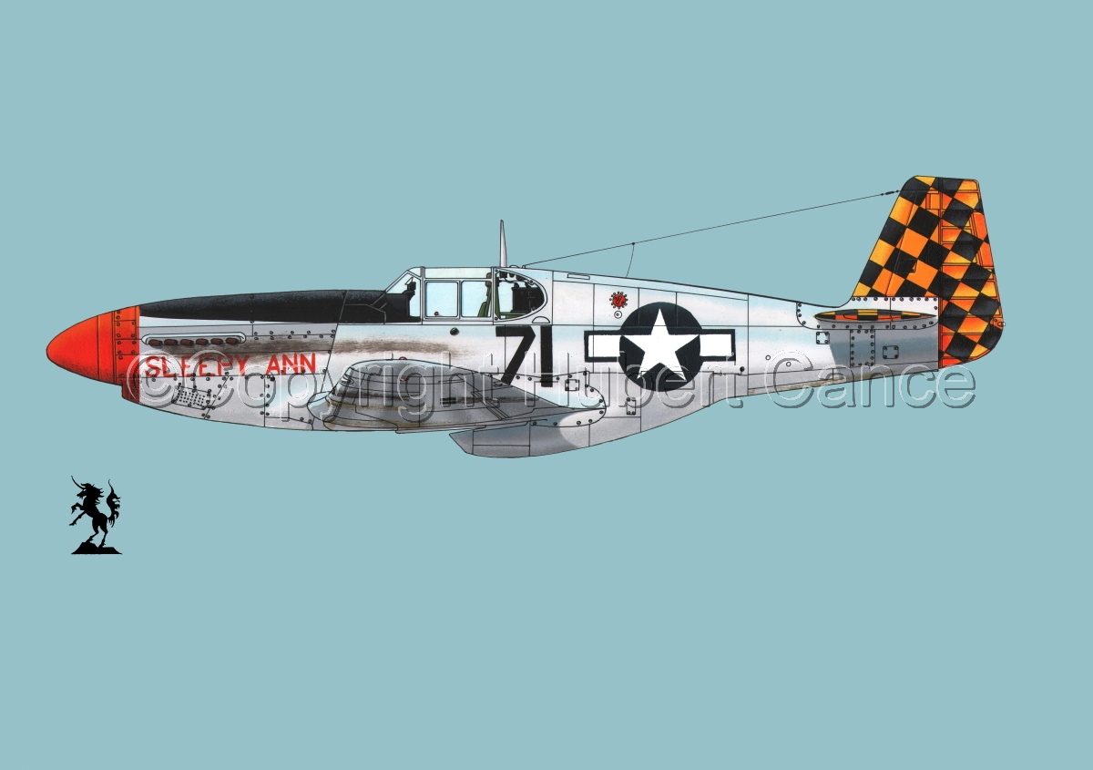 "North American P-51B ""Mustang"" #1.2 (large view)"