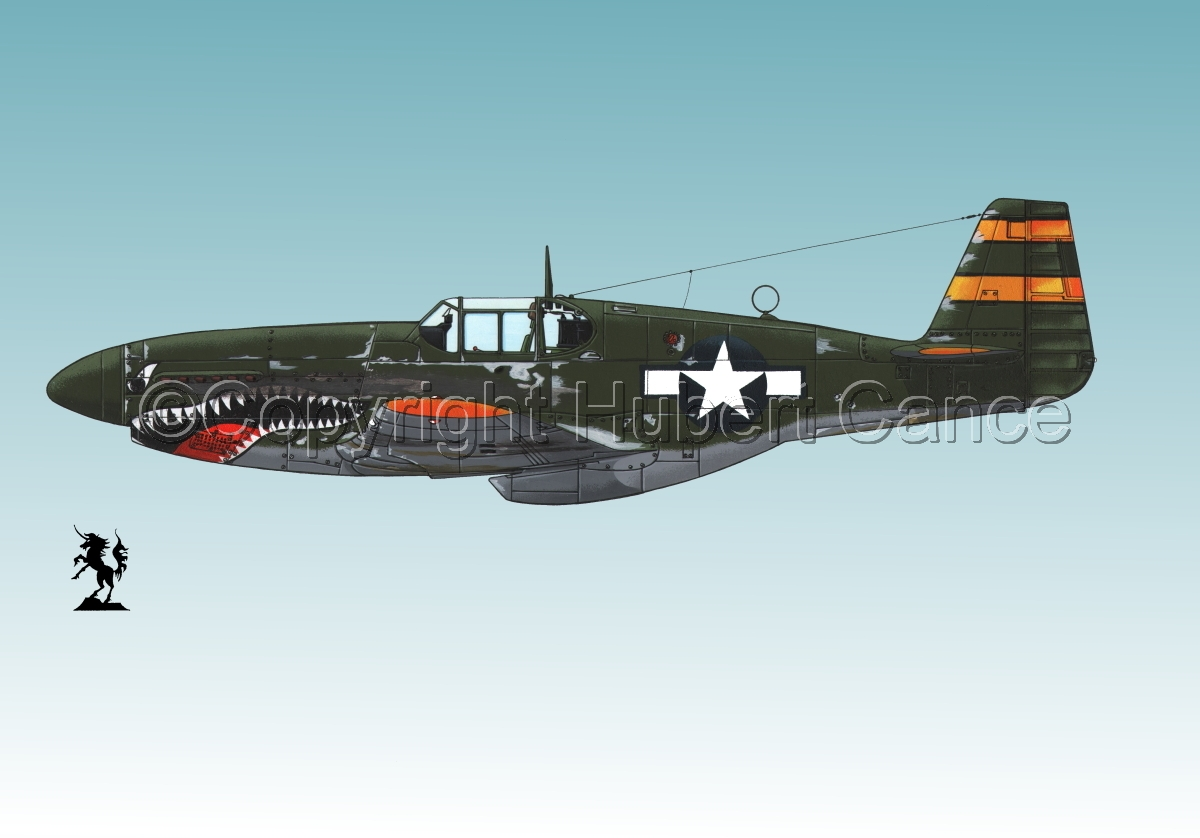 "North American P-51B ""Mustang"" #2.3 (large view)"