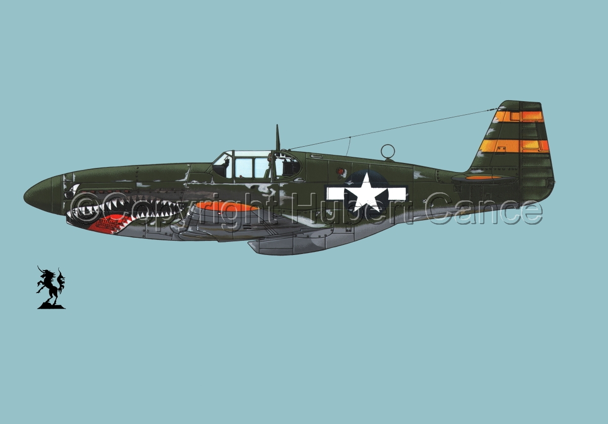 "North American P-51B ""Mustang"" #2.2 (large view)"