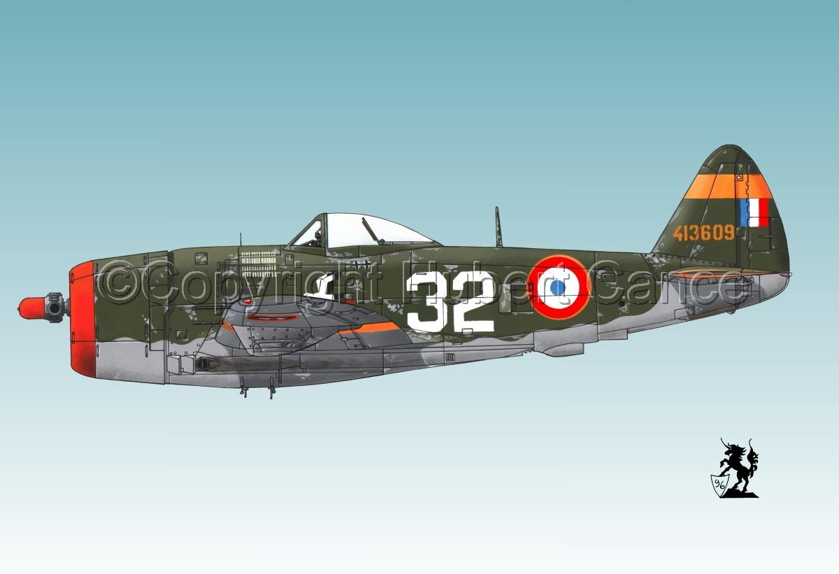 """Republic P-47D-25 """"Thunderbolt"""" #1.3 (large view)"""