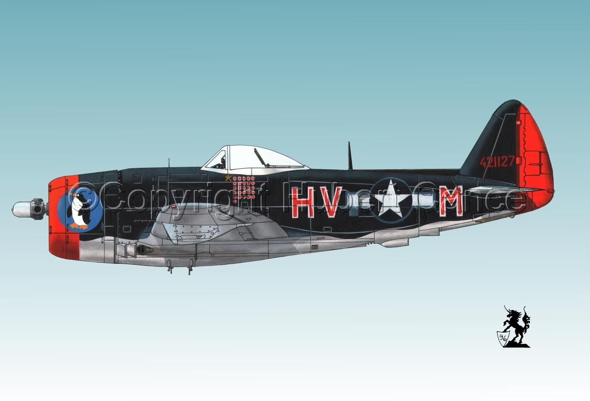 """Republic P-47D-30 """"Thunderbolt"""" #1.3 (large view)"""