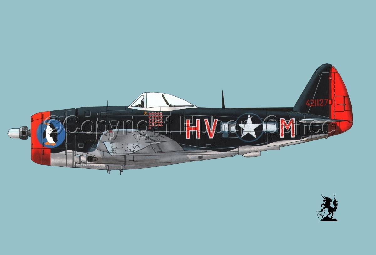 """Republic P-47D-30 """"Thunderbolt"""" #1.2 (large view)"""