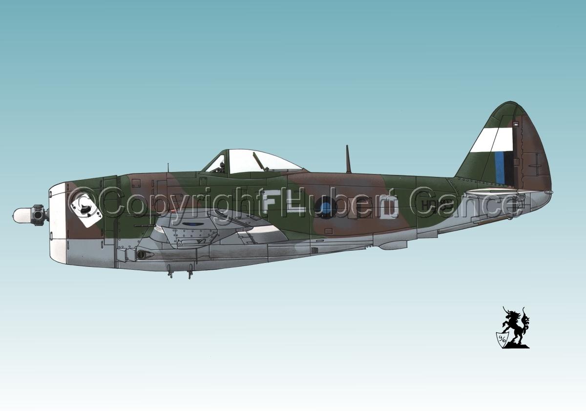 """Republic P-47D-30 """"Thunderbolt"""" #2.3 (large view)"""