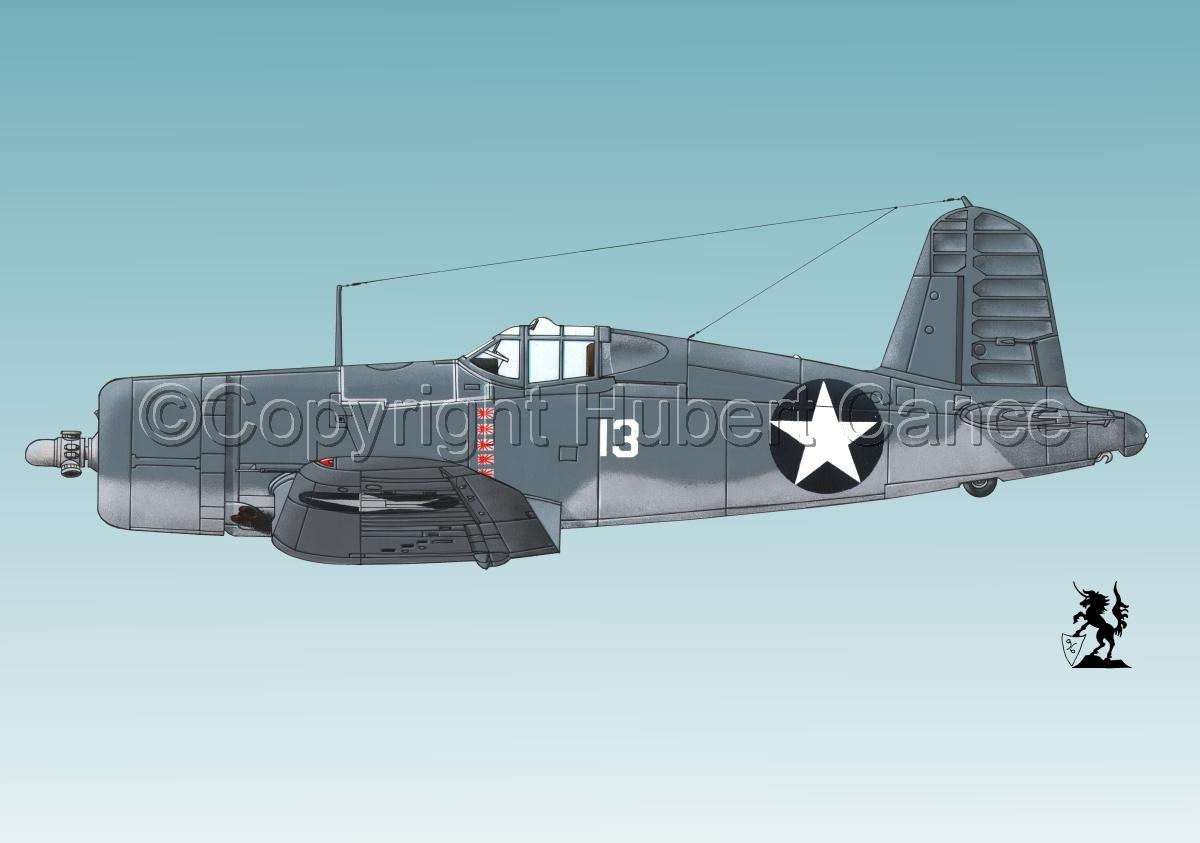 """Chance-Vought F4U-1 """"Corsair"""" #3 (large view)"""