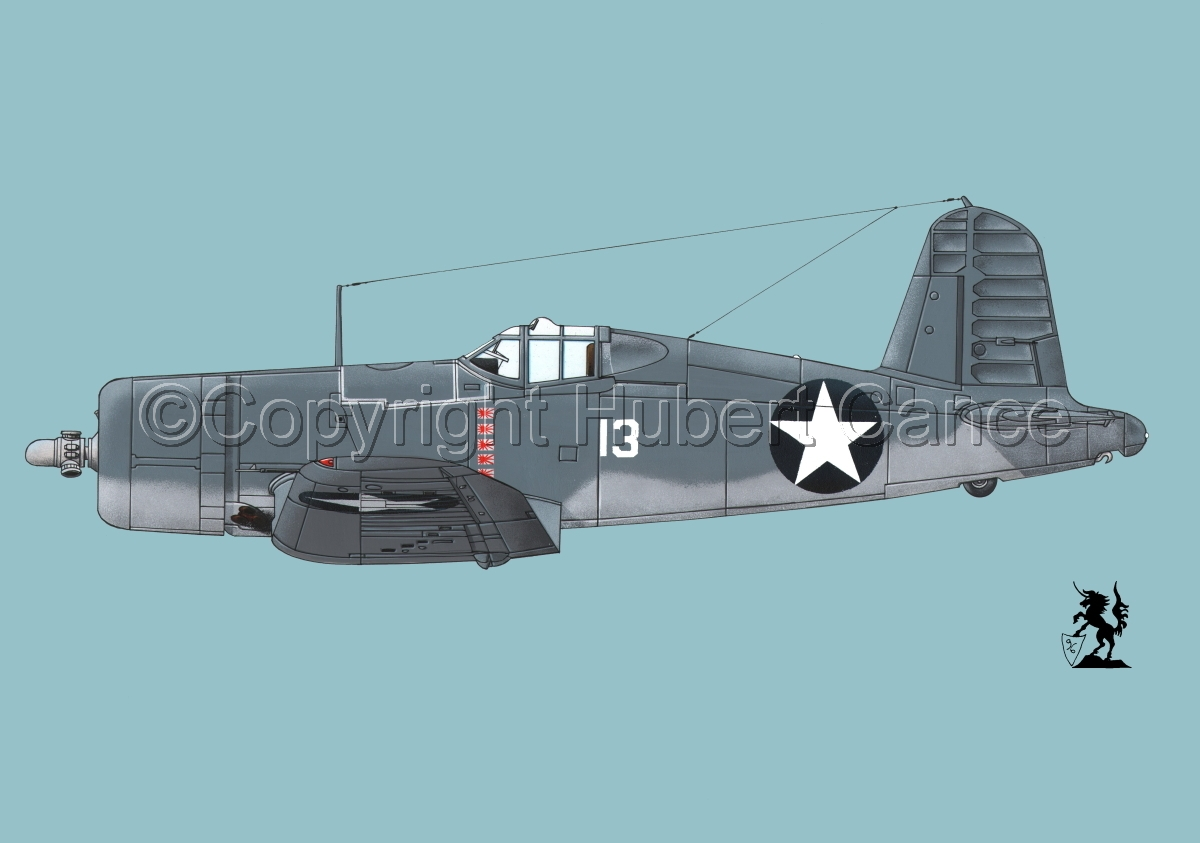 "Chance-Vought F4U-1 ""Corsair"" #2 (large view)"