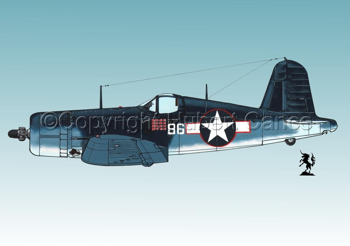 """Chance-Vought F4U-1A """"Corsair"""" #1.3 (large view)"""