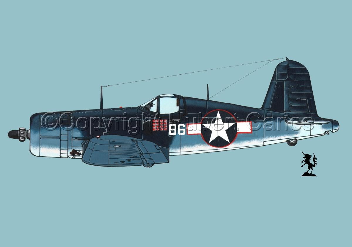 """Chance-Vought F4U-1A """"Corsair"""" #1.2 (large view)"""