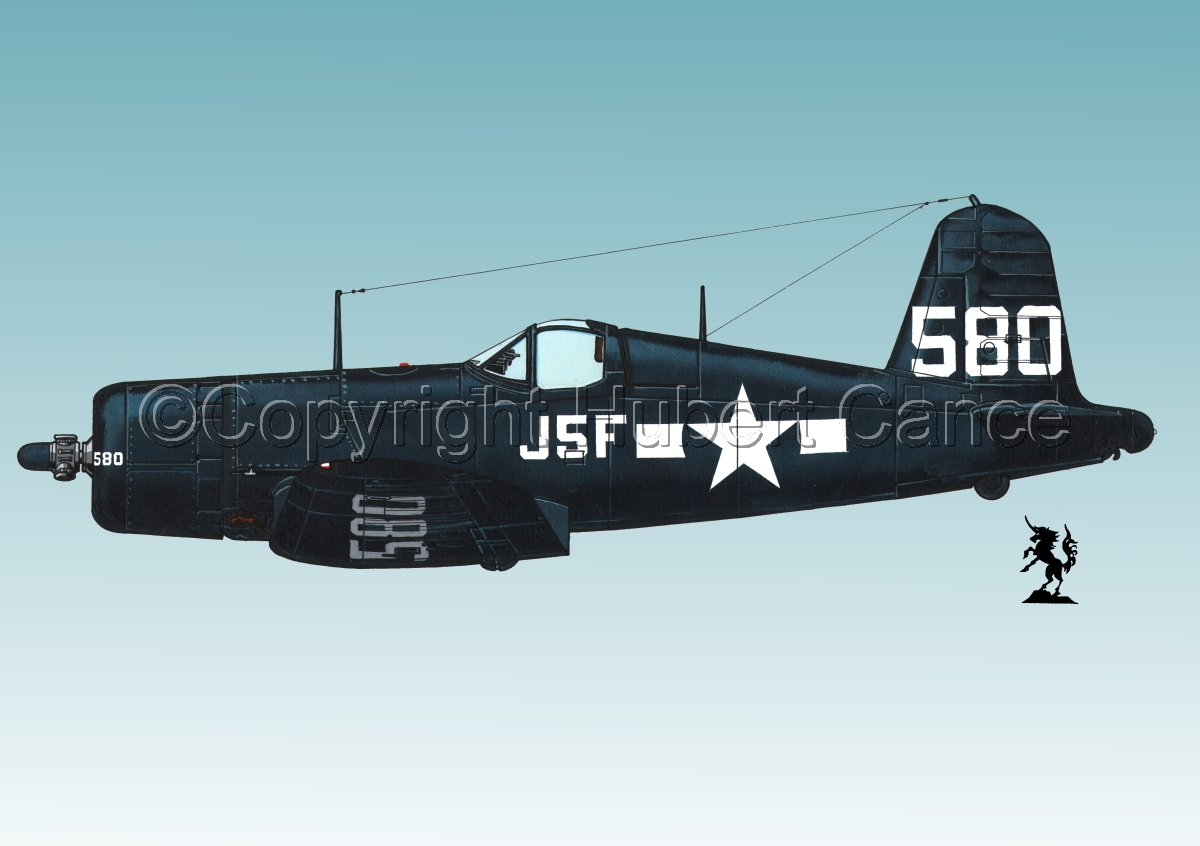 "Chance-Vought F4U-1A ""Corsair"" #2.3 (large view)"