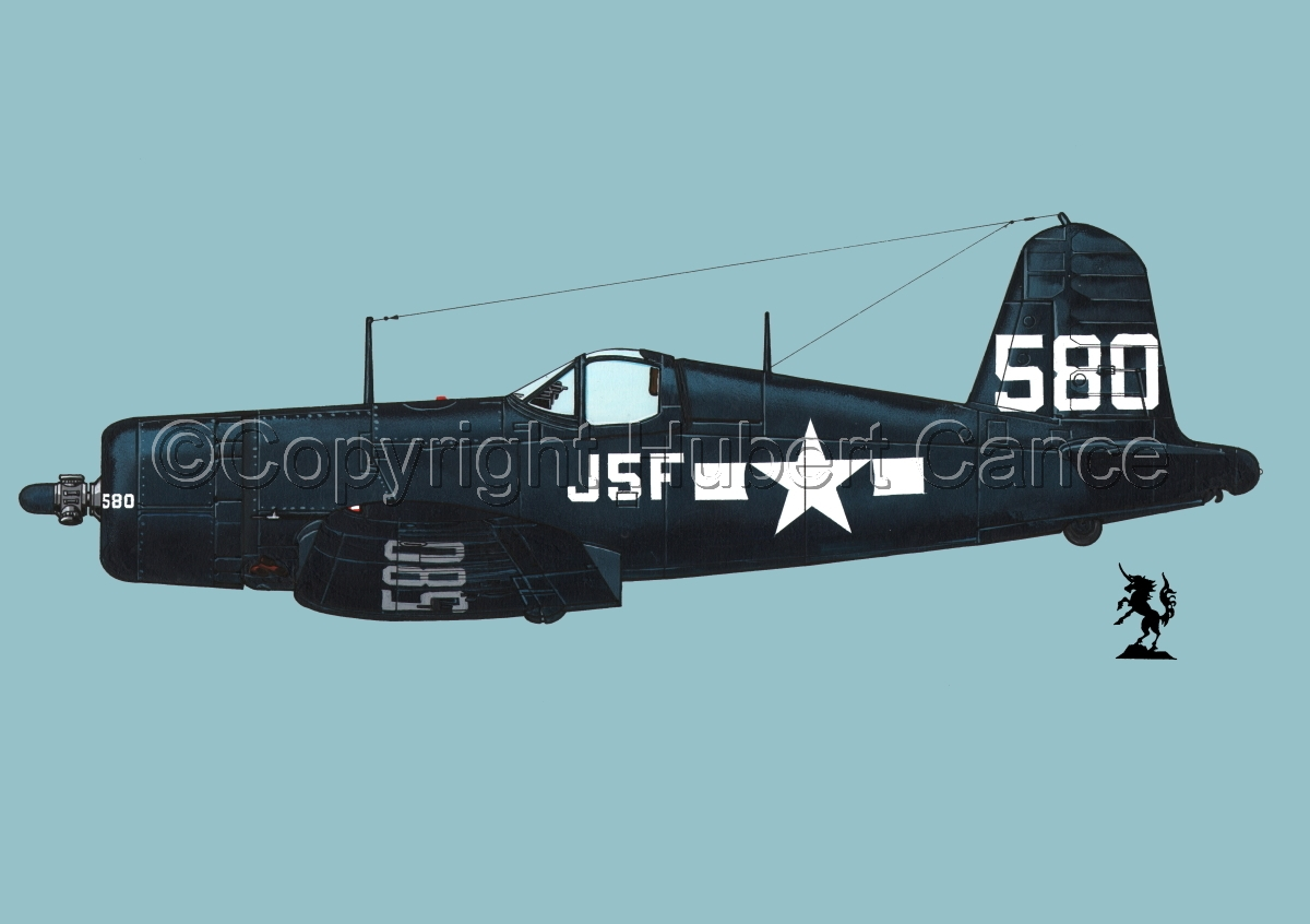 "Chance-Vought F4U-1A ""Corsair"" #2.2 (large view)"