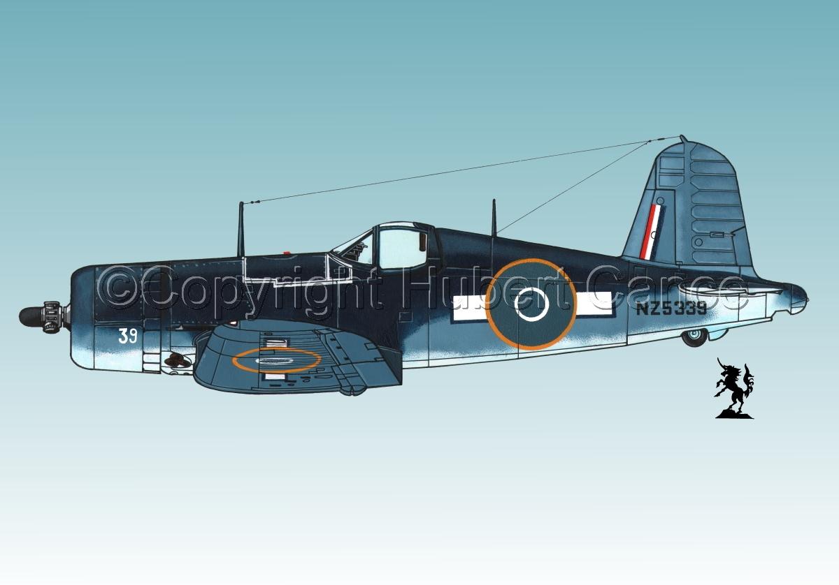 """Chance-Vought F4U-1A """"Corsair"""" #3.3 (large view)"""
