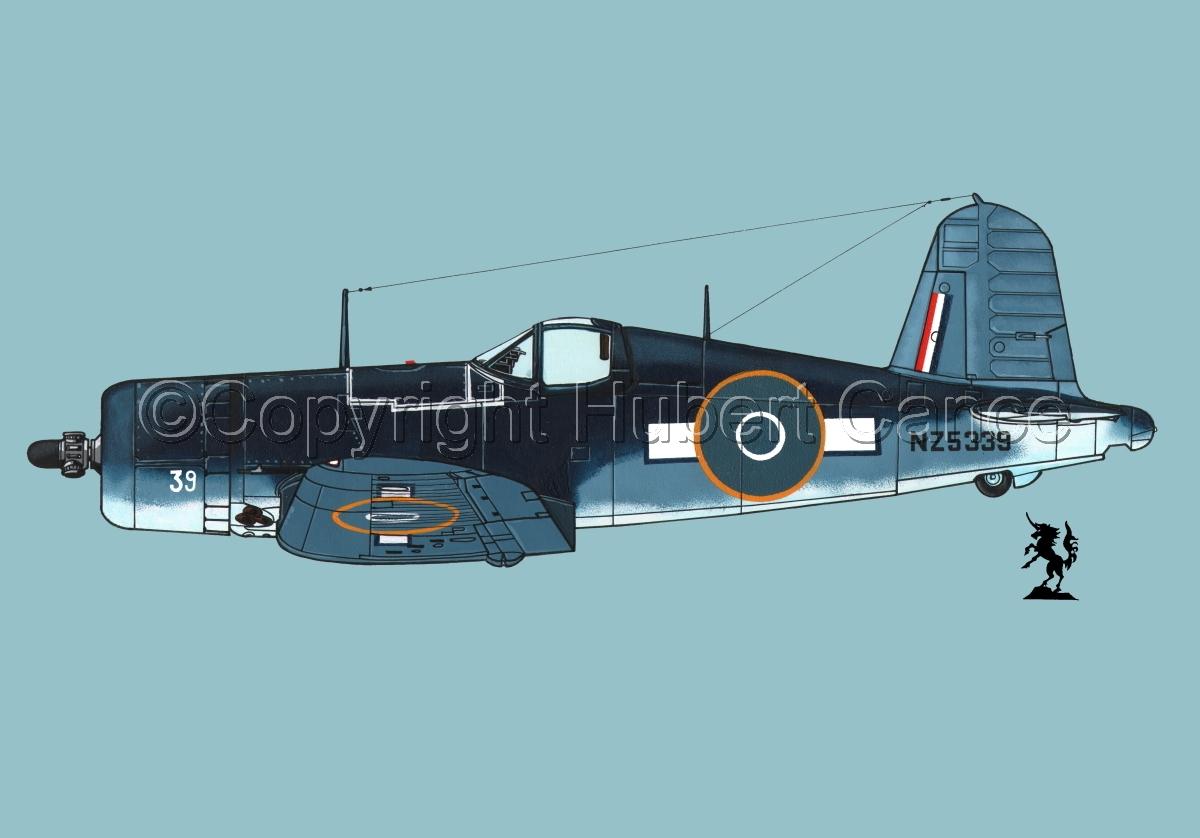 """Chance-Vought F4U-1A """"Corsair"""" #3.2 (large view)"""
