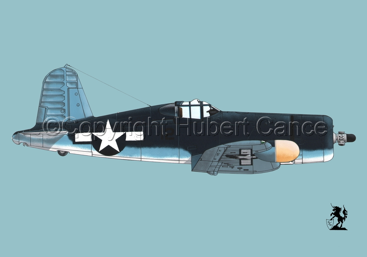"Chance-Vought F4U-2 ""Corsair"" #2 (large view)"