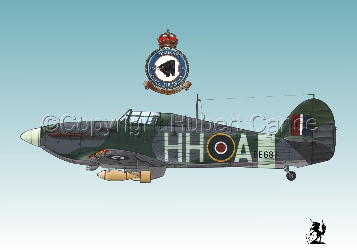 """Hawker """"Hurricane"""" Mk.IIb """"Hurribomber"""" #1.3 (large view)"""